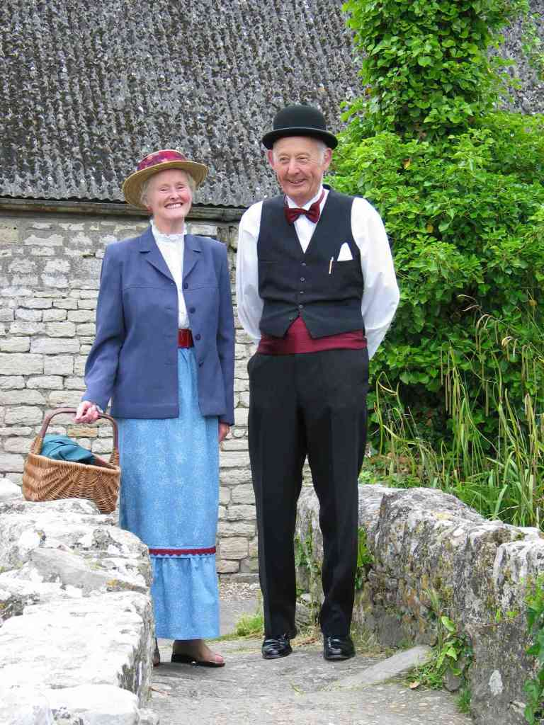 Visitors to the Fayre in 2006