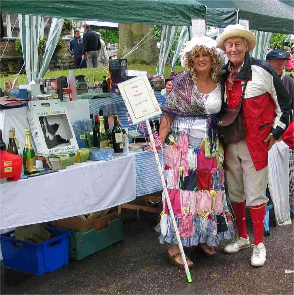 Tombola at the 2006 Fayre